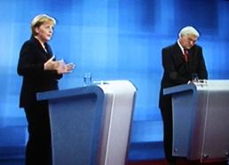 TV Duell am 13.9.2009