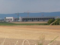 Bau des neuen Mainz 05 Stadions