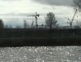 Schiersteiner Brücke aktuell